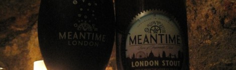 Meantime's London Stout taken at the cafe in the Crypt of St Mary le Bow